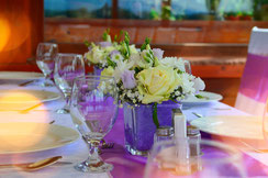 Rosa als Hochzeitsfarbe