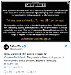 Lootboxen Star Wars Battlefront 2