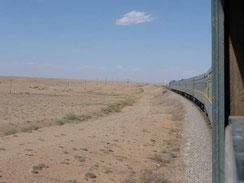 vue du Transsibérien - Moscou Pékin - voyage transsibérien