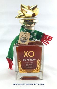 Du Peyrat Organic Cognac XO in handsome decanter  - Rare & Exceptional Spirit Gift Ideas - HeavenlySpirits