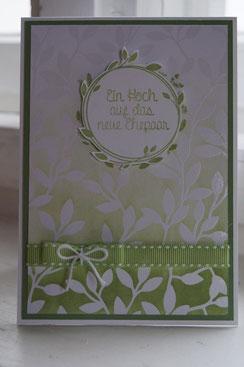 Glückwunschkarte zur Hochzeit - Stampin`Up!