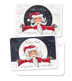Weihnachtskarte Alles Liebe weihnachstkarte