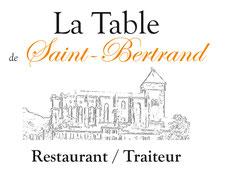 Restaurant la vieille auberge, place du Plan, à Saint Bertrand de Comminges, grand site touristique et historique de Haute-Garonne