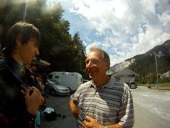 Jan und Klaus in Versam Graubünden 2012