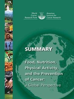 がん予防の報告書の要約