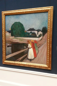 """Munchs """"Pikene på broen"""""""