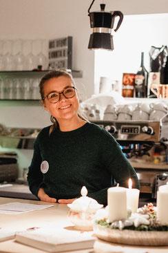 Wortwechsel in violett; Kitchen2soul; Katrin Große