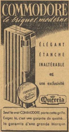 Publicité du 8 novembre 1947 dans l'Est Républicain