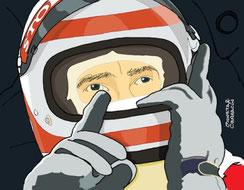 Clay Regazzoni by Muneta & Cerracín