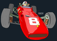 Chris Amon by Muneta & Cerracín