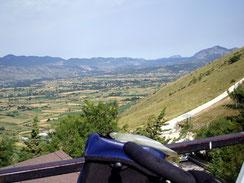 ...und nach Norden Richtung Tagliacozzo