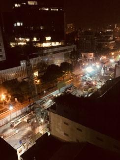 Ho Chi Minh City in der Nacht