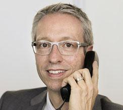 Daniel Schmid-Haslebacher, Immobilientreuhänder beim Immobilien-Zentrum Schmid AG in Bern.