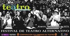 Afiche Festival Alternativo de Teatro