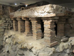 römisches Legionslager Vindobona, Tribunenhäuser im Römischen Museum Wien