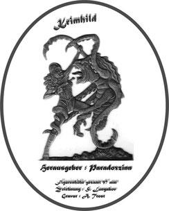 Krimhild einseitige Gravur  (70mm Augenhöhe)