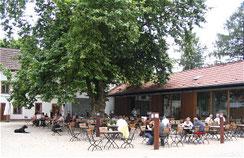 Innenhof Scheune Neuhaus