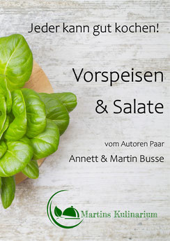 E-Book Kochbuch Vorspeisen & Salate-als Pdf zum Download Verfügbar