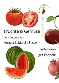 E-Book Kochbuch Früchte & Gemüse-als Pdf zum Download Verfügbar