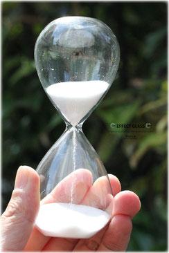 レムリアンシードクリスタル 水晶砂時計