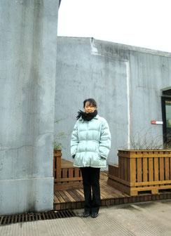 もう春の気配が感じられているのにと言われてしまいそうですが寒かった冬の上海にて