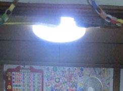 あかりの灯る 通称「ワン」の部屋