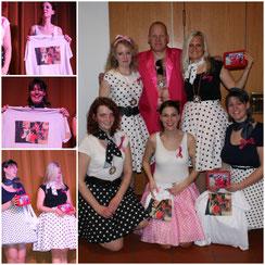 Jubilare: 3 Tänzerinnen in 2019, seit Gründung in 1997, dabei