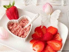 Rote Bete Quinoa mit Erdbeeren