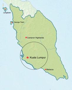 Malaysia - Kuala Lumpur - Weltreise Blog und Reiseziele - Travel um die Welt