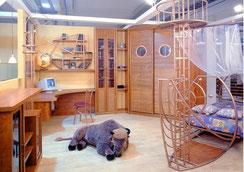 ремонт детской комнаты Одесса, детская комната для двоих детей, дизайн детской комнаты для мальчика, дизайн интерьера детской фото