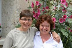 Roselyne et Marie Chrisitne