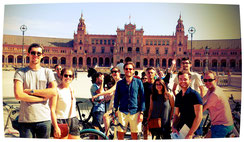 Bike tour in English in Seville