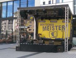 Mobile Open Air Bühne mieten