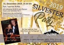 Silvesterparty im Olymp, 31655 Stadthagen