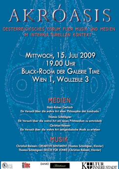 galerie time Konzert Österreichisches Forum für Musik und Medien