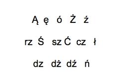 Polnische Sonderzeichen