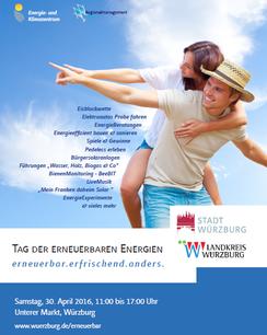 Tag der erneuerbaren Energien mit e-Pedelecs von e-motion Würzburg