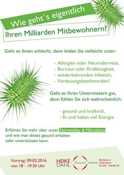 Darmmikobiom Darmgesundheit Vortrag Berlin Probiotika Kinder