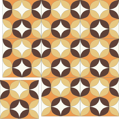 Carreaux de ciment Floorilège - Motif vintage VI8