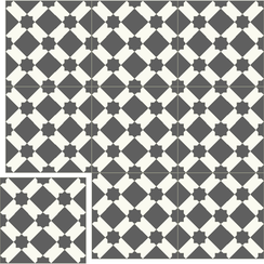 Carreaux de ciment Floorilège - Motif arabia AR1
