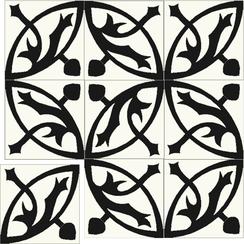 Carreaux de ciment Floorilège - Motif mérovingia ME1