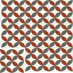 Carreaux de ciment Floorilège - Motif vintage VI3