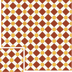 Carreaux de ciment Floorilège - Motif arabia AR6
