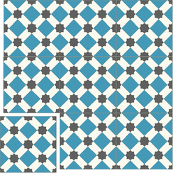Carreaux de ciment Floorilège - Motif arabia AR4