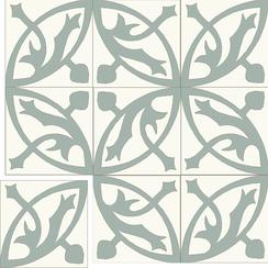 Carreaux de ciment Floorilège - Motif mérovingia ME8