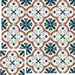 Carreaux de ciment Floorilège - Motif élégance EL6