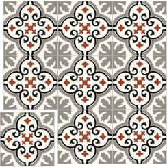 Carreaux de ciment Floorilège- Motif élégance EL2