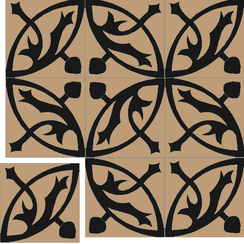 Carreaux de ciment Floorilège - Motif mérovingia ME2
