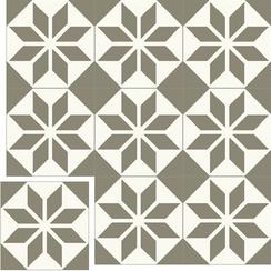 Carreaux de ciment Floorilège - Motif éole EO5