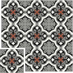 Carreaux de ciment Floorilège - Motif élégance EL5